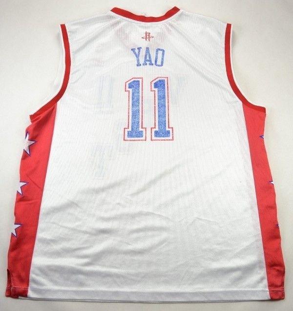 West All Star Nba Yao Reebok Shirt Xl Basketball