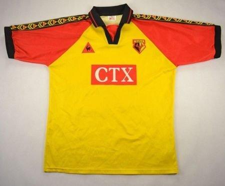 1998 99 watford shirt l football soccer premier for Epl table 1998 99