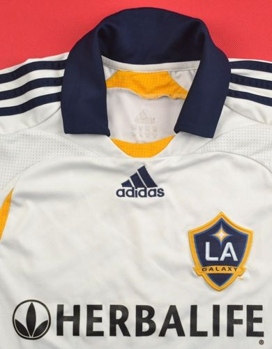 2008-09 LOS ANGELES GALAXY *BECKHAM* SHIRT XL. BOYS