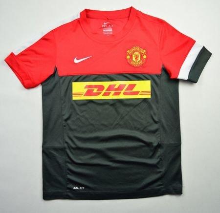 2012 13 manchester united shirt m boys 140 152 cm for Manchester united shirt sponsor
