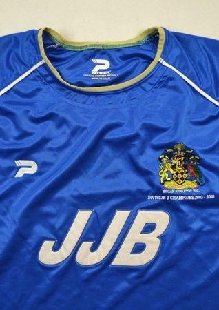 2002-03 WIGAN ATHLETIC SHIRT XL
