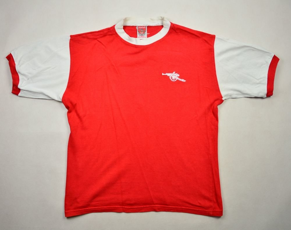 1984 85 arsenal london shirt m football soccer for League two table 1984 85