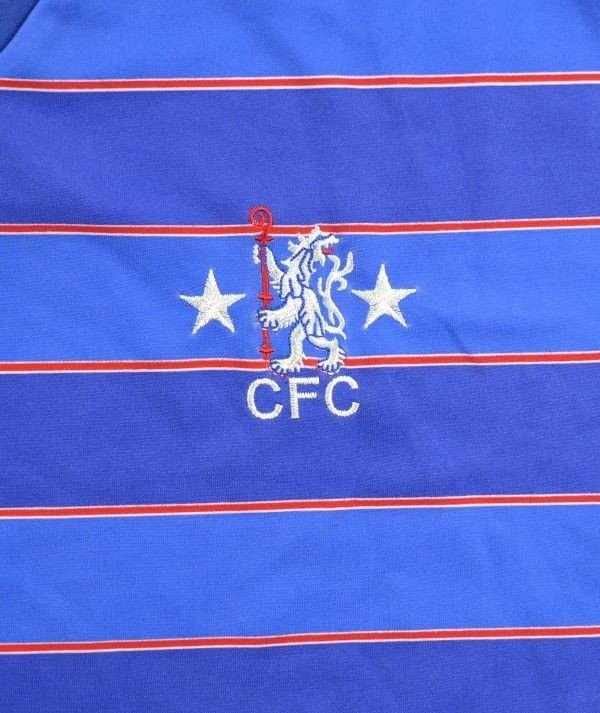 1984 85 chelsea london shirt s retro item football for League two table 1984 85