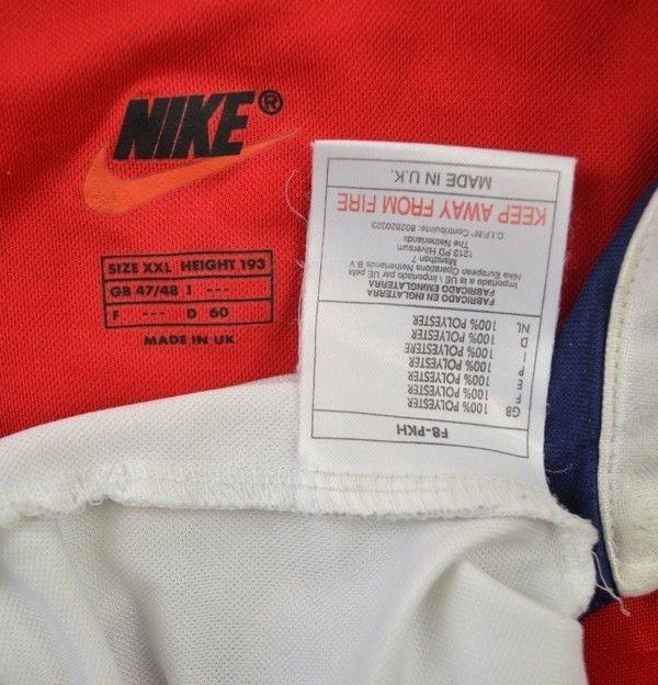 1998 99 arsenal london shirt xxl football soccer for Epl table 1998 99