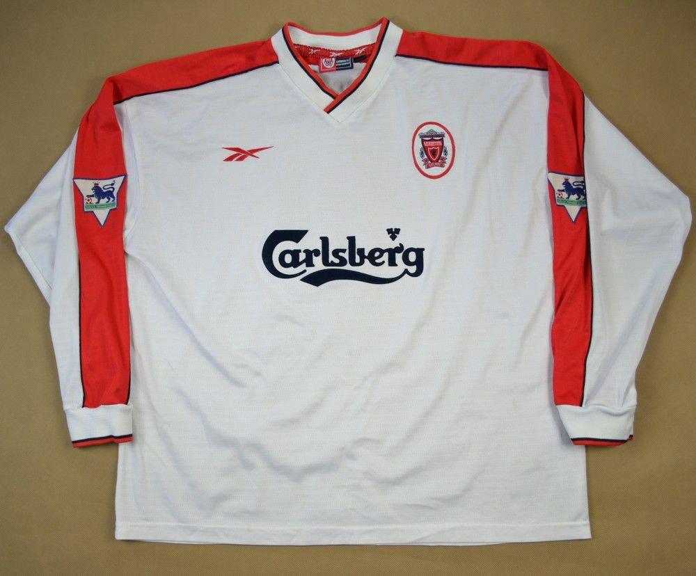 1998 99 liverpool owen shirt xl football soccer for Epl table 1998 99