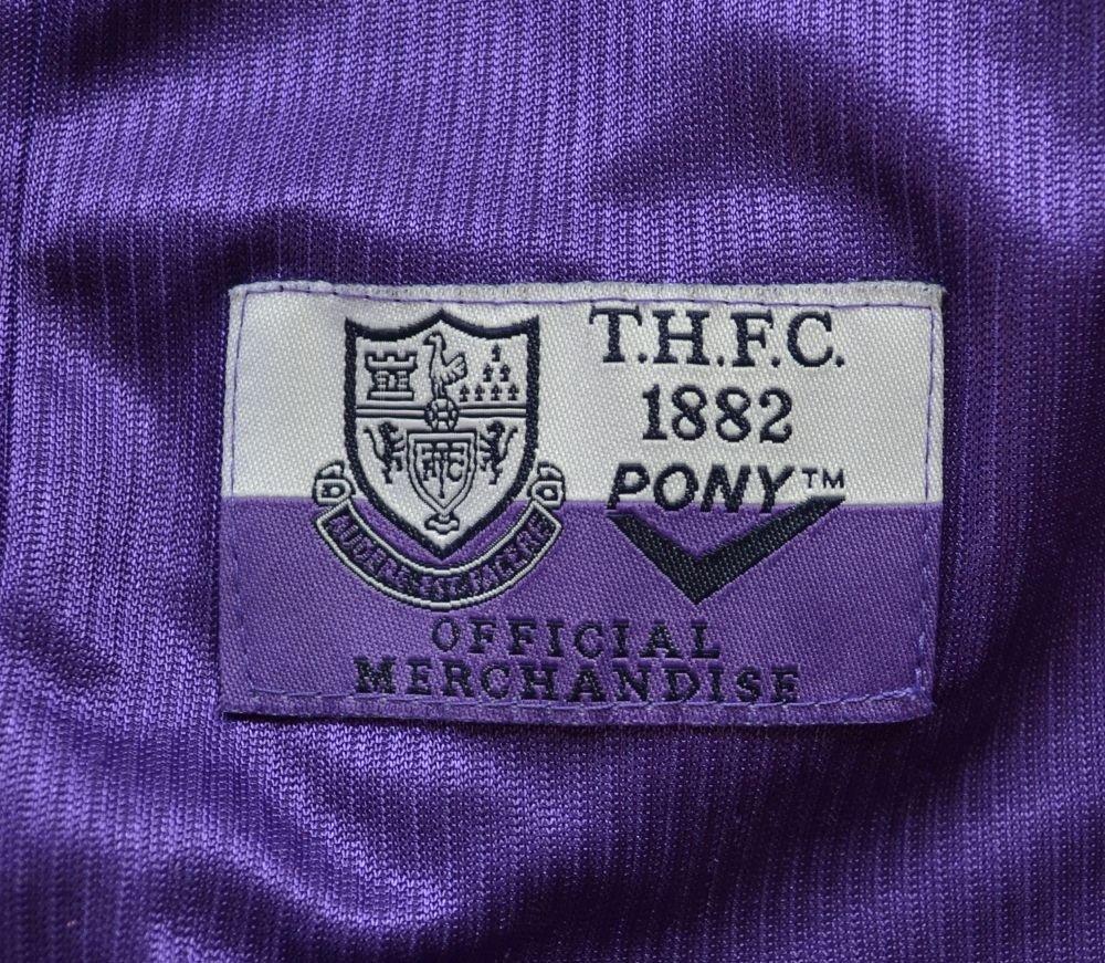 1998 99 tottenham hotspur shirt 2xl football soccer for Epl table 1998 99