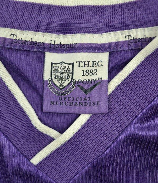 1998 99 tottenham hotspur shirt xl football soccer for Epl table 1998 99