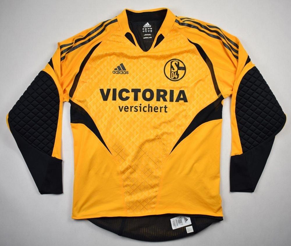 2004 06 schalke 04 gelsenkirchen gk rost shirt s football soccer european clubs german. Black Bedroom Furniture Sets. Home Design Ideas