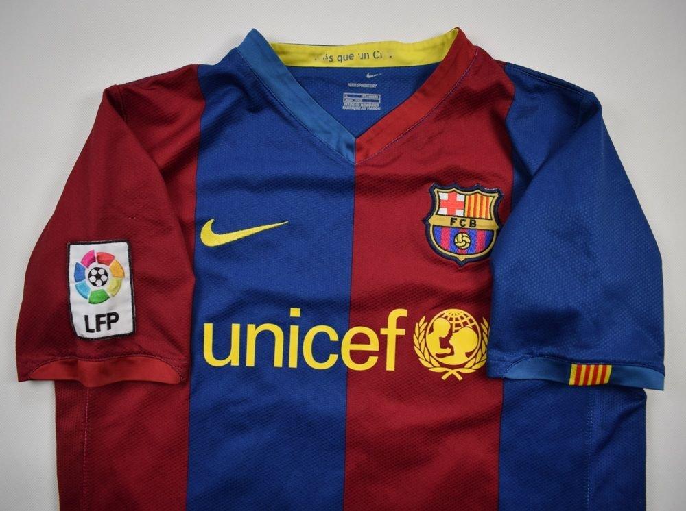 2006 07 FC BARCELONA DECO SHIRT L BOYS 152 158 CM
