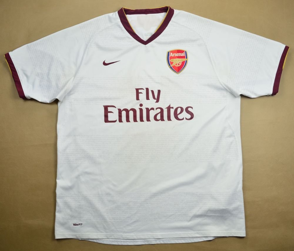 Details zu 19901992 Arsenal home football shirt men's Adidas JVC rare vintage