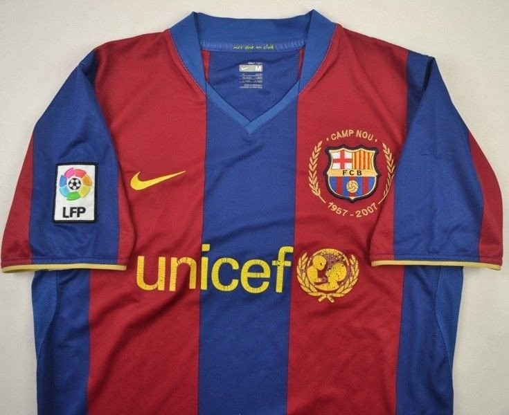 FC Barcelona Nike 07/08 Home Kit (Camp Nou 50th Anniversar… | Flickr