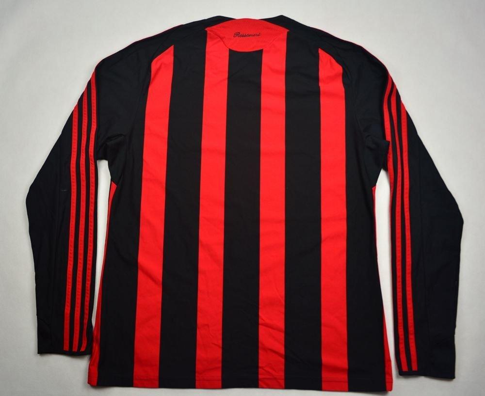 2008-09 AC MILAN LONGSLEEVE SHIRT L | FOOTBALL / SOCCER ...