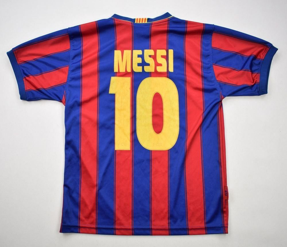 2009 10 FC BARCELONA  MESSI  SHIRT M BOYS Football. 2009 10 FC BARCELONA. 2012  13 Barcelona Nike Away ... 5cf4a6bd5