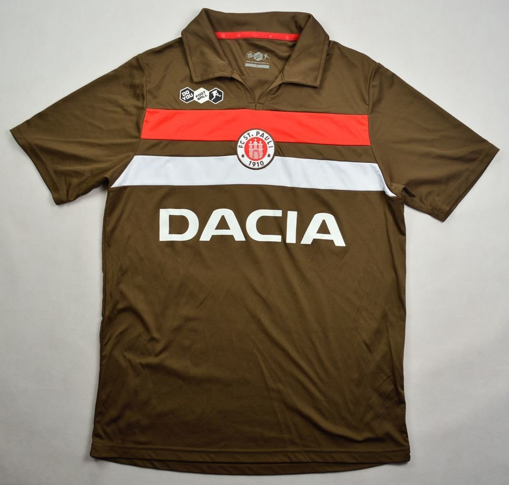 2009 10 fc st pauli shirt m football soccer european. Black Bedroom Furniture Sets. Home Design Ideas