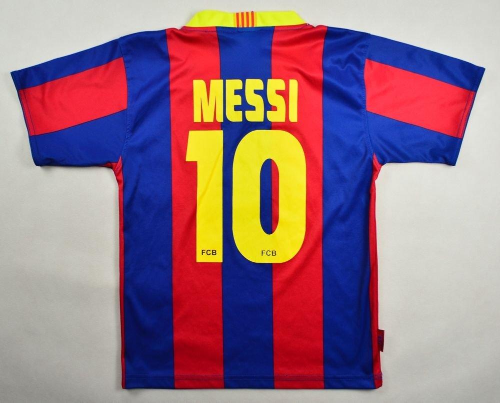 2010-11 Fc Barcelona  messi  Shirt S. Boys Football b87cc8e05