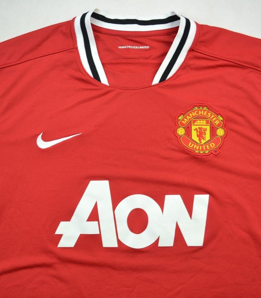 2011 12 manchester united shirt xl football soccer for Custom t shirts manchester ct