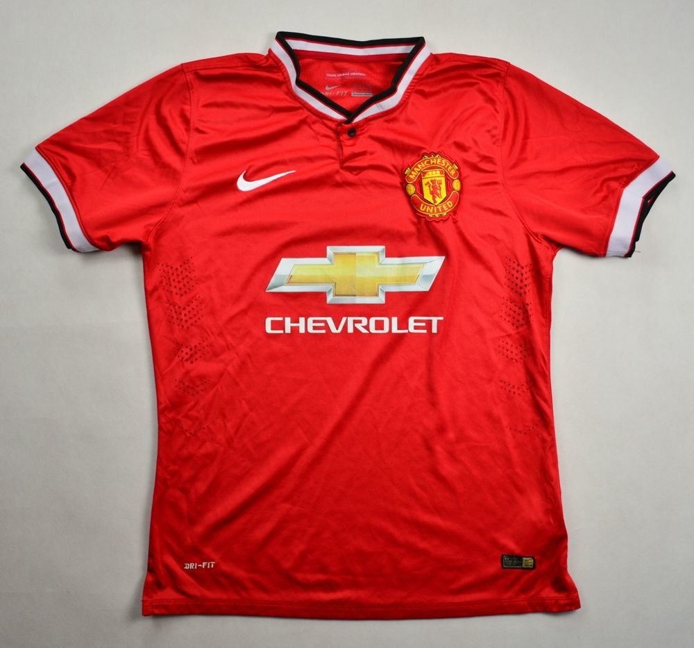 2014 15 manchester united shirt s football soccer for Manchester united shirt sponsor