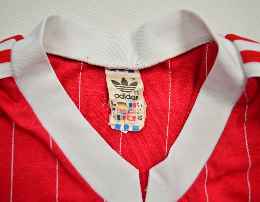 adidas made in west germany shirt l vintage vintage football shirts. Black Bedroom Furniture Sets. Home Design Ideas