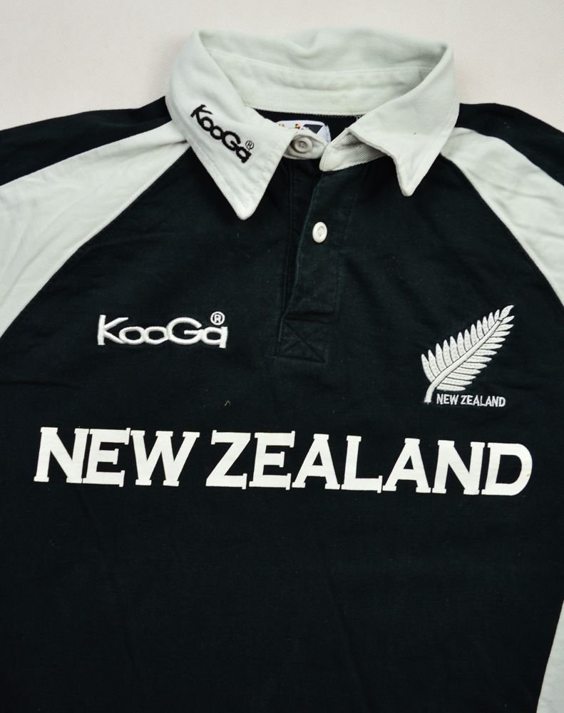 All black t shirt new zealand -  All Blacks New Zealand Rugby Kooga Shirt M