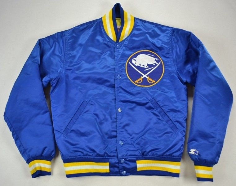 83b201f8b BUFFALO SABRES NHL STARTER Jacket LXL Boys 150-160cm ... Vintage ...