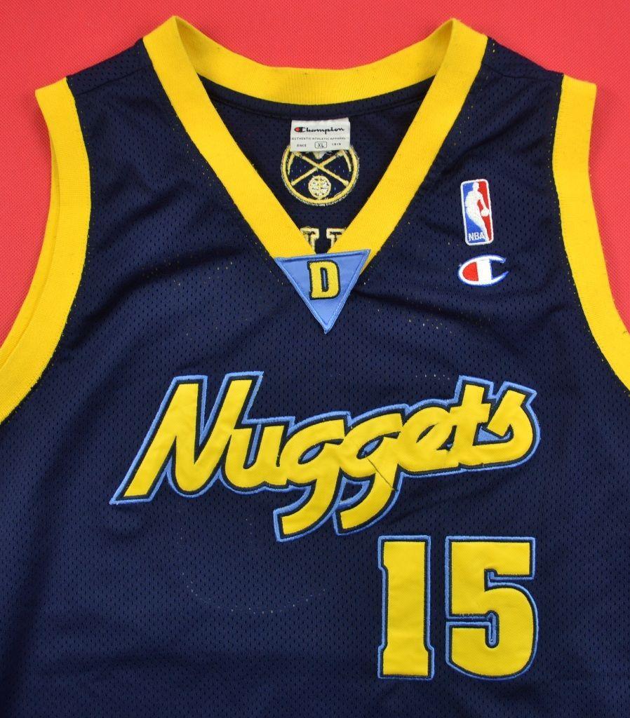 Nugget Champ Berbahaya: DENVER NUGGETS *ANTHONY* NBA CHAMPION SHIRT XL