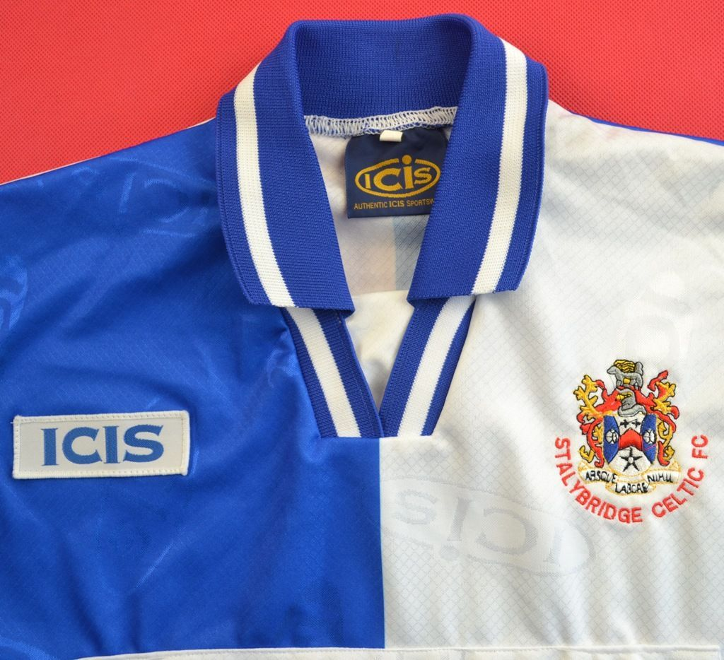 Icis Stalybridge Celtic Fc Mint Shirt Jersey Size S Football