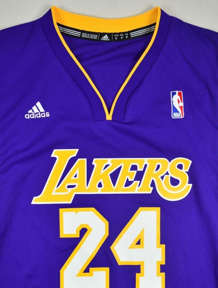 Nba Basketball Los Angeles Lakers: LOS ANGELES LAKERS *BRYANT* NBA ADIDAS SHIRT S Other