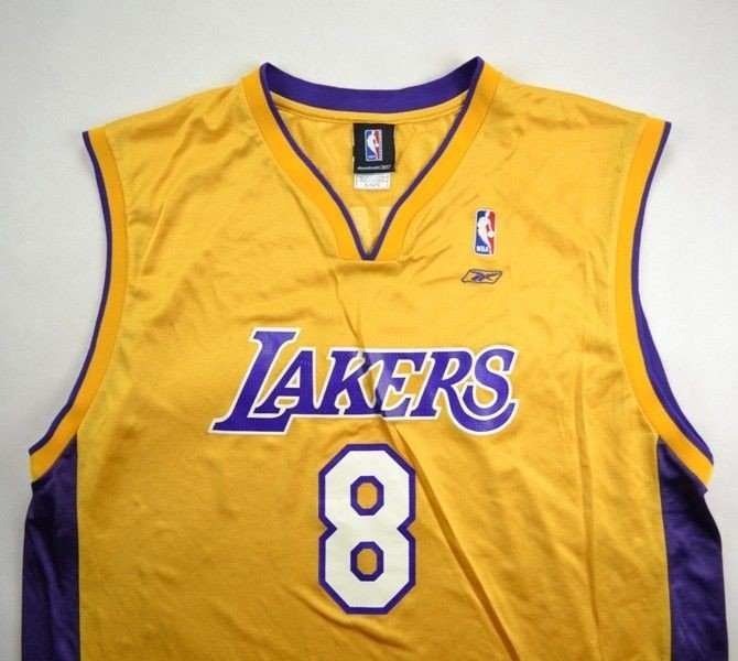 LOS ANGELES LAKERS NBA *BRYANT* REEBOK SHIRT XL | OTHER ...