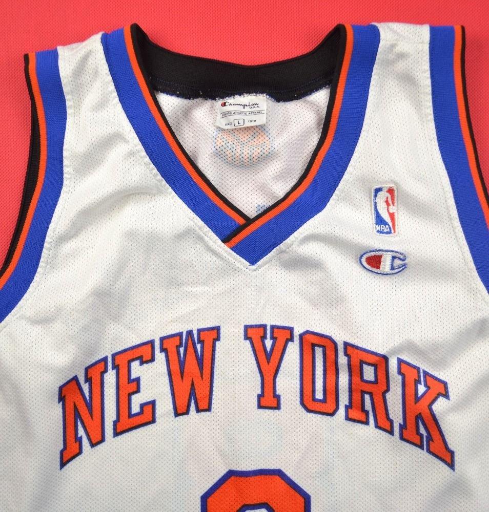 Nba Basketball New York Knicks: NEW YORK KNICKS NBA *SPREWELL* SHIRT L