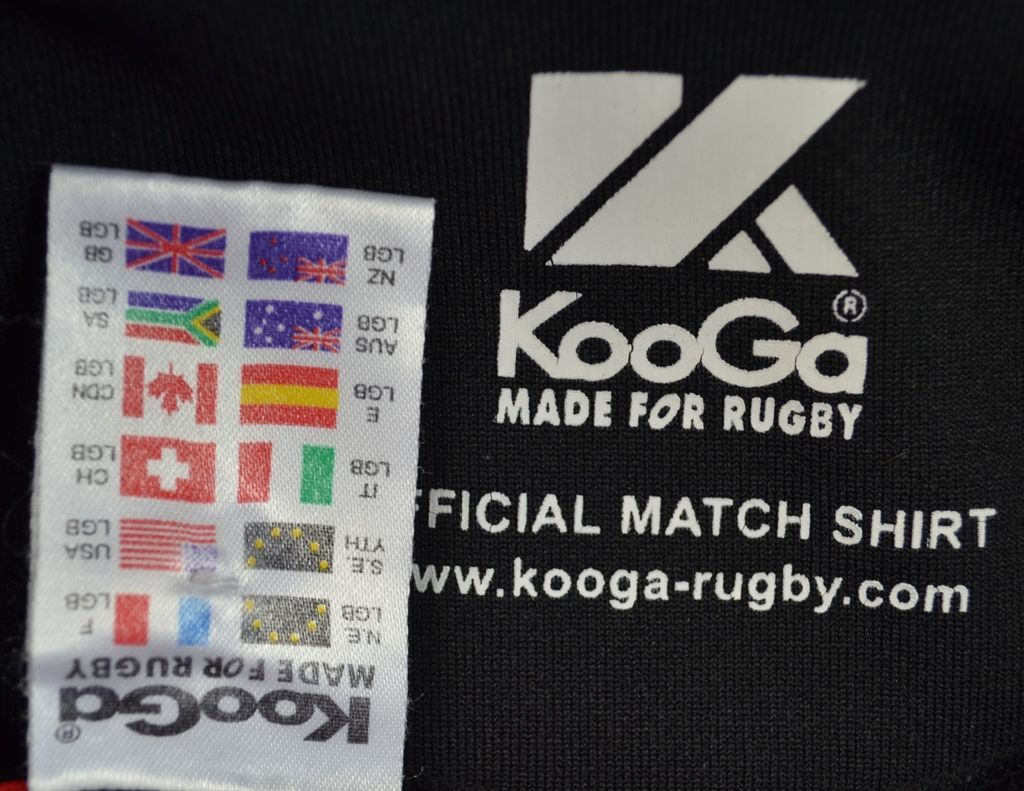 Design shirt kooga -  Saracens Kooga Rugby Shirt Jersey L Boys