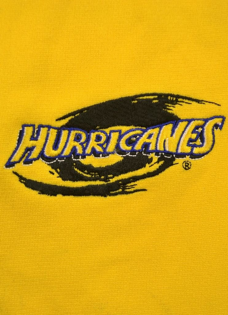wellington hurricanes rugby adidas shirt m rugby rugby