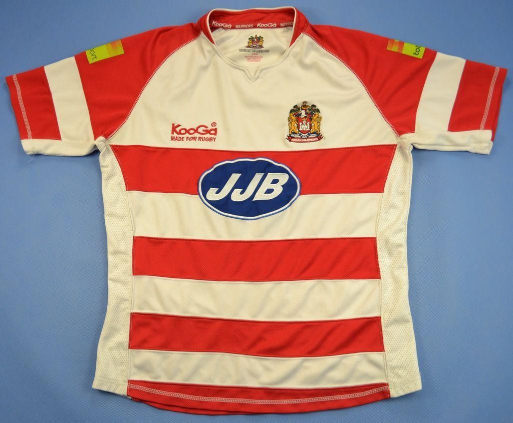 Design shirt kooga - Wigan Warriors Rugby Kooga Shirt L Rugby Rugby League Clubs