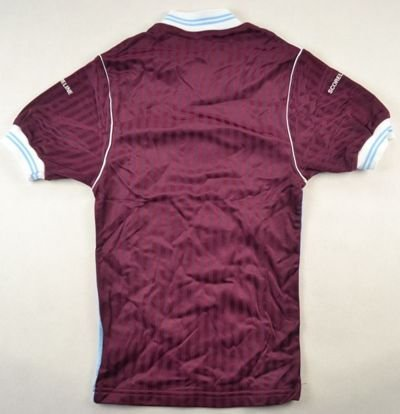 1987-89 WEST HAM UNITED SHIRT S. BOYS