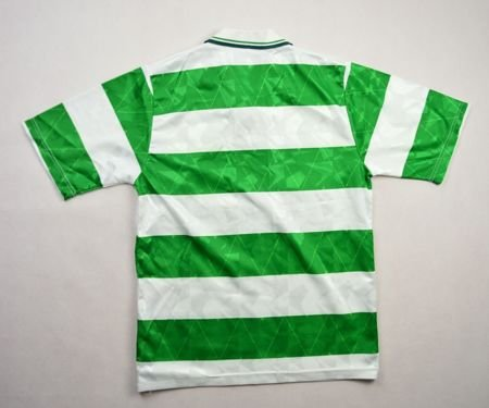 1989-91 CELTIC GLASGOW SHIRT M. BOYS