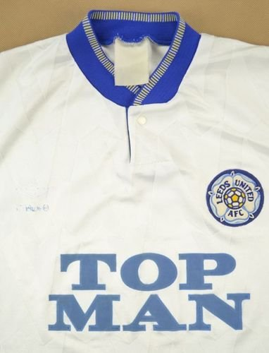 1990-91 LEEDS UNITED SHIRT S