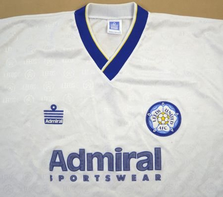 1992-93 LEEDS UNITED SHIRT L