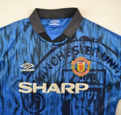 1992-93 MANCHESTER UNITED SHIRT M