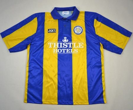1993-95 LEEDS UNITED SHIRT L. BOYS