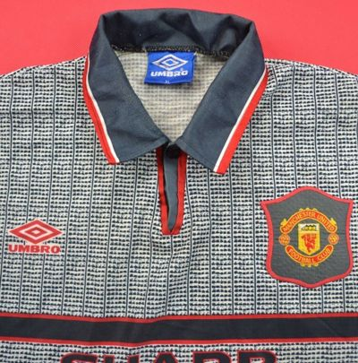 1995-96 MANCHESTER UNITED SHIRT XL