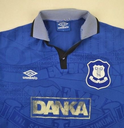 1995-97 EVERTON SHIRT L