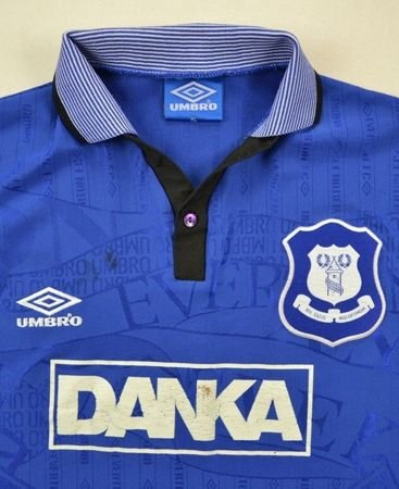 1995-97 EVERTON SHIRT XL