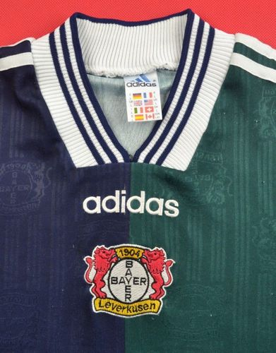 1997-98 BAYER LEVERKUSEN SHIRT L