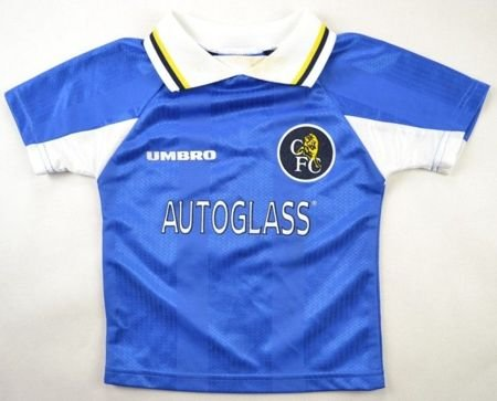 1997-99 CHELSEA LONDON SHIRT SIZE 2/3 YEARS