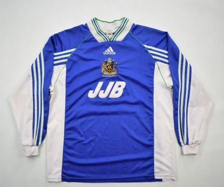 1998-00 WIGAN ATHLETIC LONGSLEEVE SHIRT L
