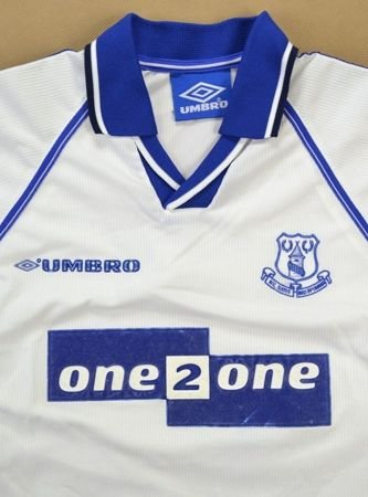 1998-99 EVERTON SHIRT L. BOYS