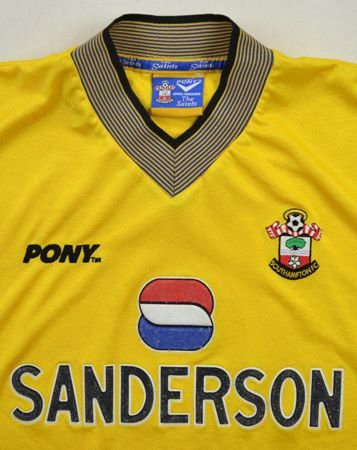 1998 99 southampton fc shirt l football soccer for Epl table 1998 99