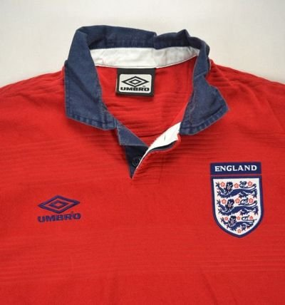 1999-01 ENGLAND SHIRT XL