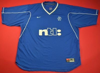 1999-01 GLASGOW RANGERS SHIRT XL