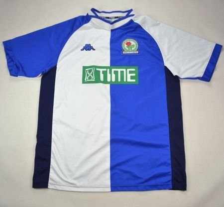 2000-02 BLACKBURN ROVERS SHIRT XL