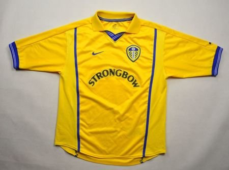 2000-02 LEEDS UNITED SHIRT L. BOYS 152-158 CM